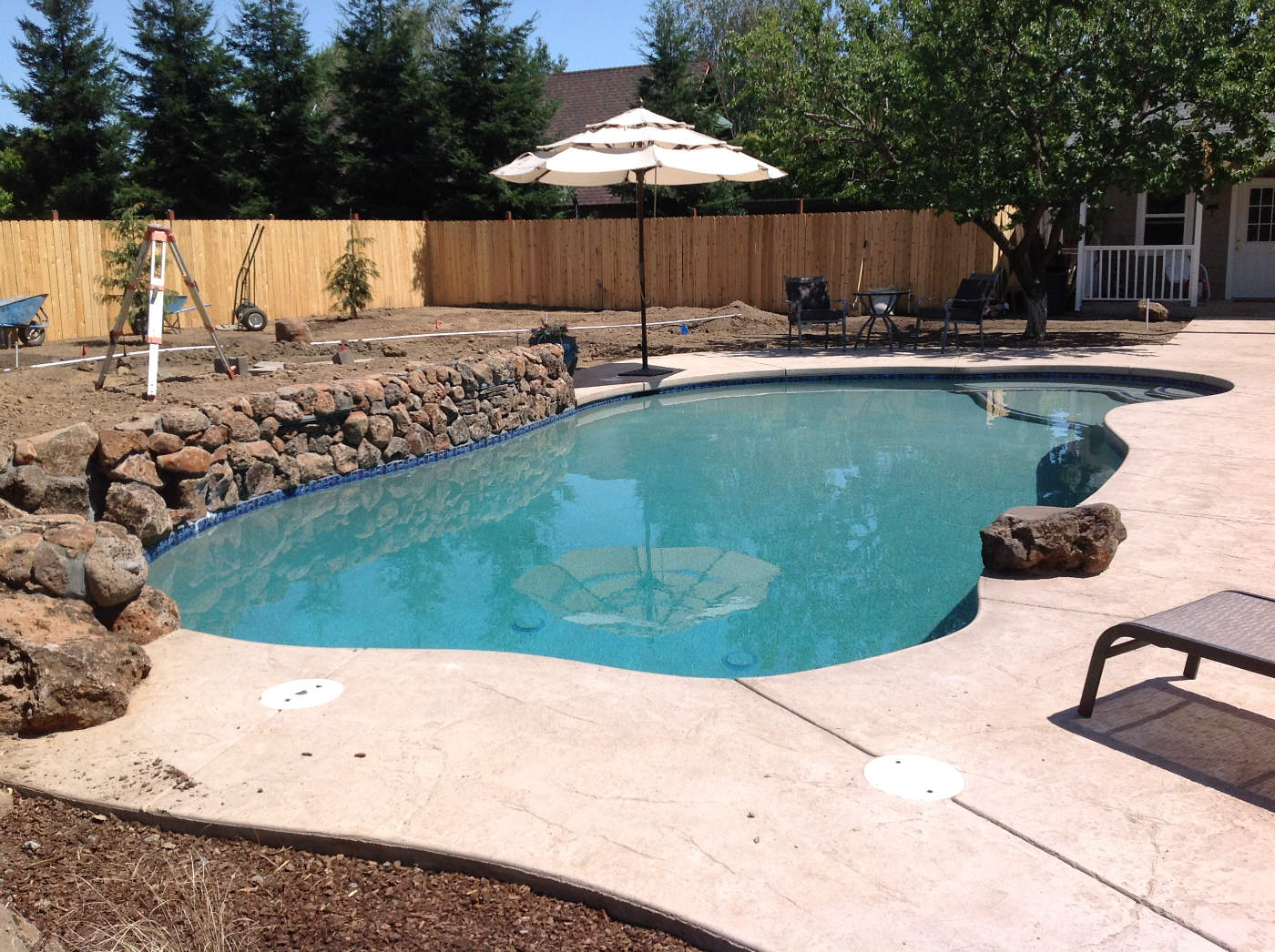 Freeform Pool #35. Category Gunite Pools