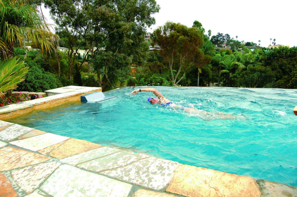 Fastlane Swimming Machine   Products - Perfection Pools and Spas